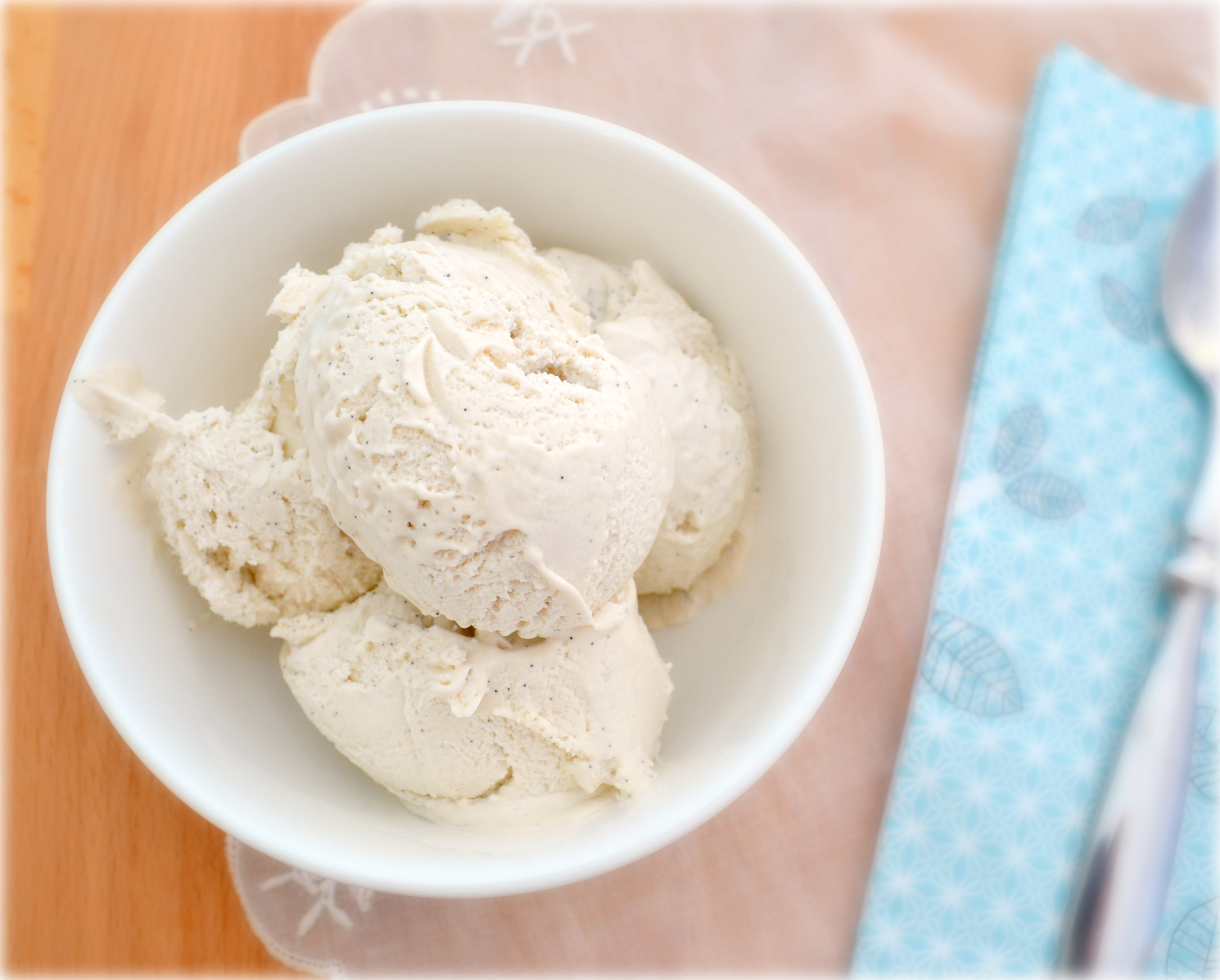 Burnt Maple & Coconut Ice Cream | Just Eat Love
